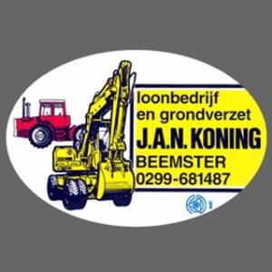 Loonbedrijf en Machineverhuur J.A.N. Koning B.V. logo