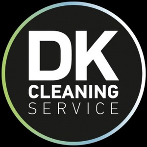 DK Cleaning Service logo