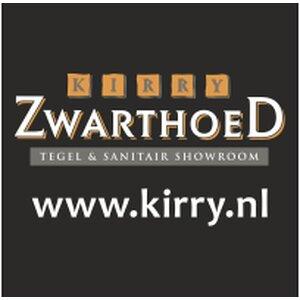 Tegelshowroom Zwarthoed Kirry logo