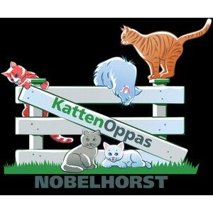 Kattenoppas Nobelhorst logo