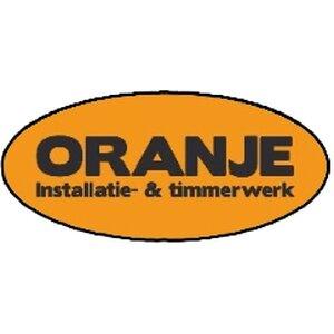 Oranje installatie & timmerwerk logo