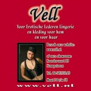 Vell   - Voor Erotisch Lederen Lingerie logo