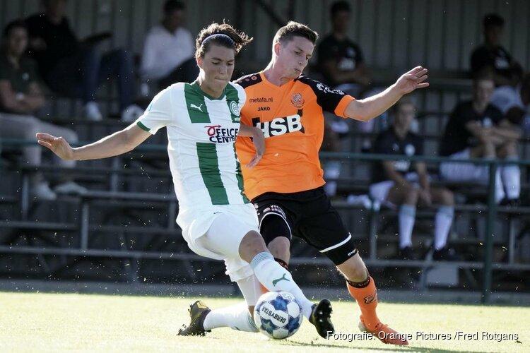 FC Volendam in laatste test onderuit tegen FC Groningen