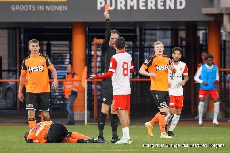 FC Volendam onderuit tegen tien man van Jong FC Utrecht