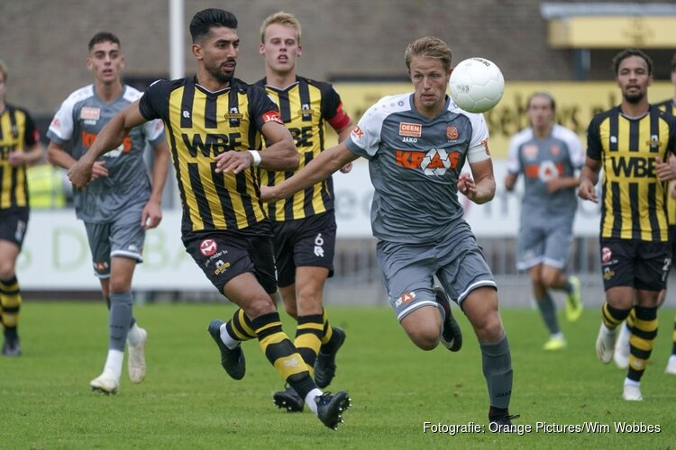 Rijnsburgse Boys maatje te groot voor Jong FC Volendam