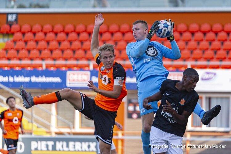 Jong FC Volendam kan geen vuist maken tegen HHC Hardenberg