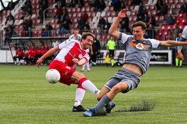 Jong FC Volendam laat kaas van het brood eten door IJsselmeervogels