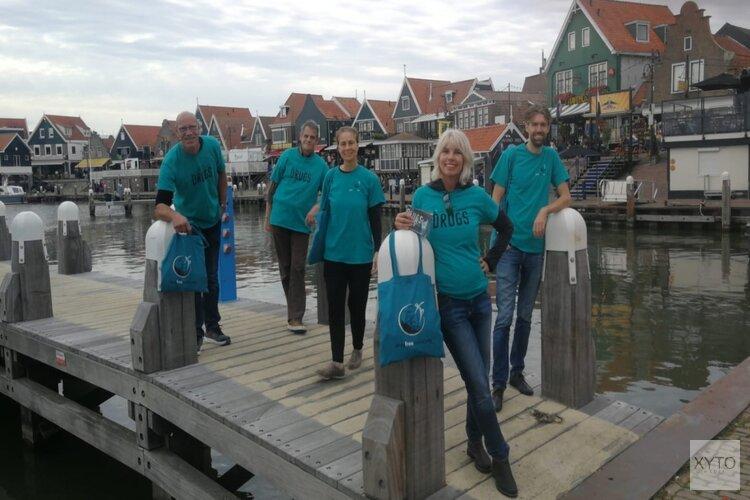 Anti drugs lachgas actie Volendam
