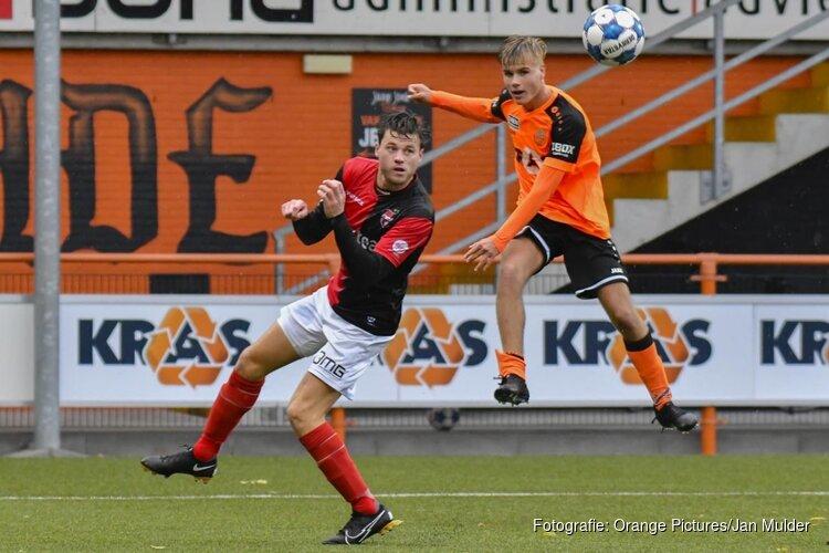 Jong FC Volendam niet langs hekkensluiter De Treffers