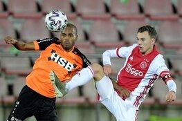 Jong Ajax en FC Volendam delen de punten