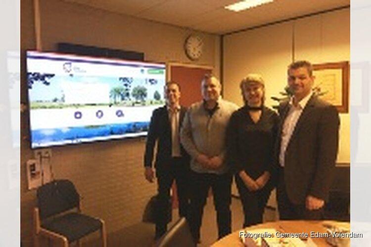 Wethouder Runderkamp opent het nieuwe Persoonlijke Internet Portaal