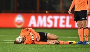 'Slecht nieuws' betekent einde seizoen Erik Schouten