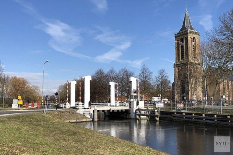 Bernardbrug in Monnickendam tijdelijk afgesloten vanwege herstelwerkzaamheden