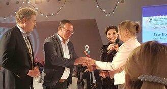 NRK Award Duurzame Producten voor topsponsor Kras Recycling