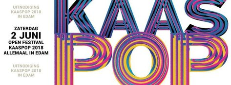 KAASPOP Edam; met o.a. The Tibbs, Soulpower en The Mauskovic Band