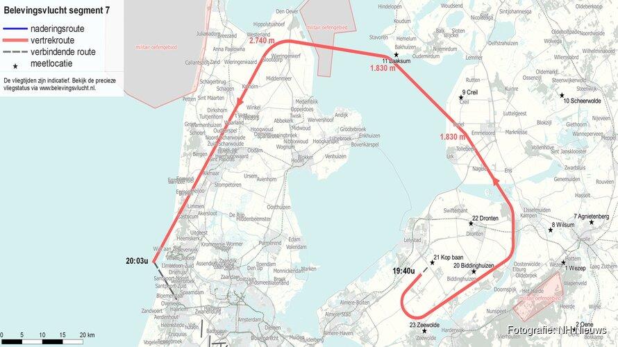 Geluid Lelystad Airport vandaag op de proef gesteld met testvlucht: dit zijn de vliegroutes