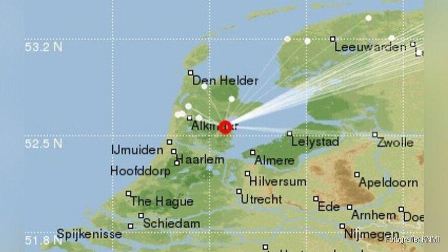 KNMI: Lichte aardbeving gemeten in Warder
