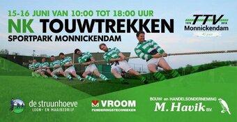 Schreeuwen en kreunen bij NK touwtrekken in Monnickendam
