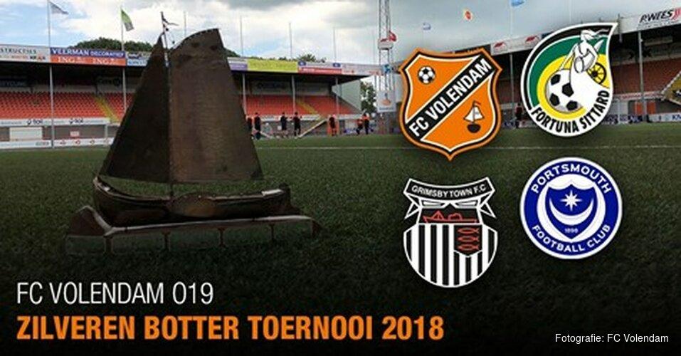 Zaterdag Zilveren Botter Toernooi bij FC Volendam