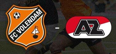 FC Volendam en Jong AZ willen van de nul af