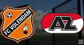 Puntendeling bij FC Volendam-Jong AZ