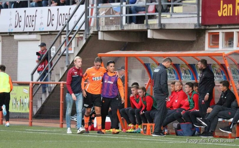 Joey Veerman (FC Volendam) breekt middenvoetsbeentje: twee maanden buitenspel