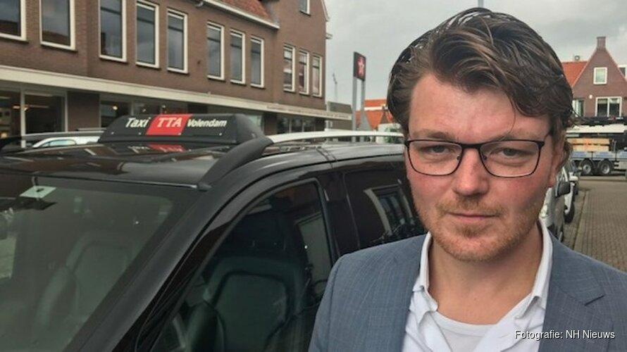 Volendamse taxichauffeurs nemen 'recht in eigen hand' bij wanpraktijken door concurrentie