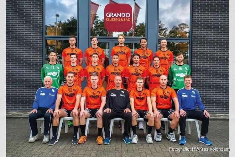HV KRAS/Volendam pakt eerste punten tegen Sasja HC