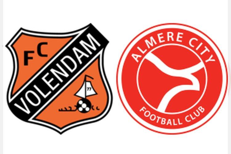 FC Volendam redt in slotfase een punt tegen koploper Almere City