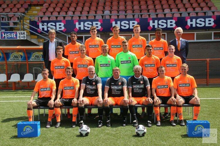 Koploper Jong FC Volendam krijgt pak slaag in Oss
