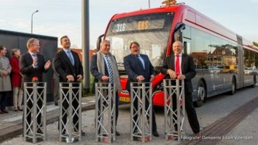 EBS verduurzaamt eerste lange afstandslijn in het streekvervoer