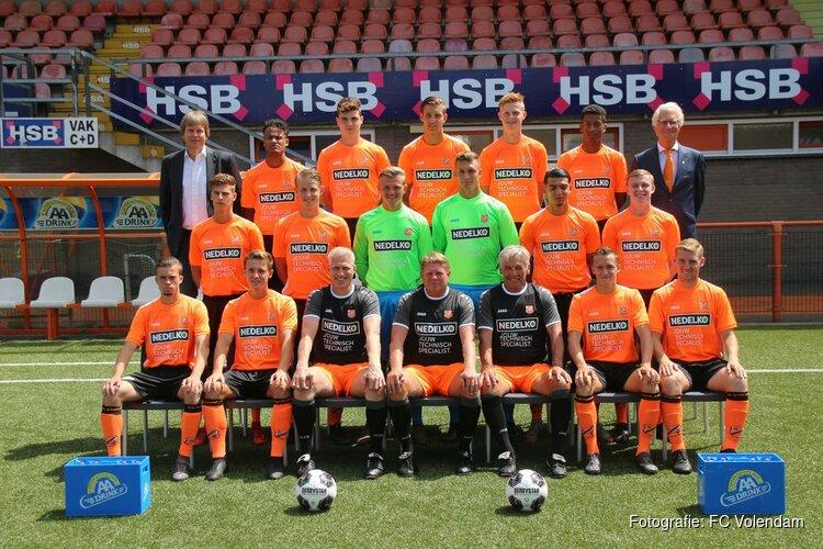 Jong FC Volendam - HBS: zaterdag 3 november, 14:30 uur