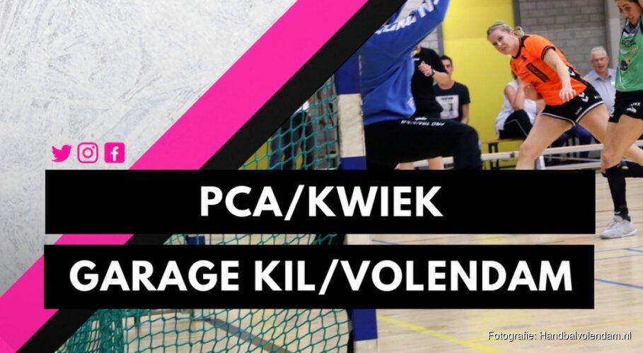 Vier punten-wedstrijd voor Garage Kil/Volendam Dames 1