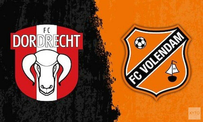 FC Volendam pakt eerste uitzege in Dordrecht