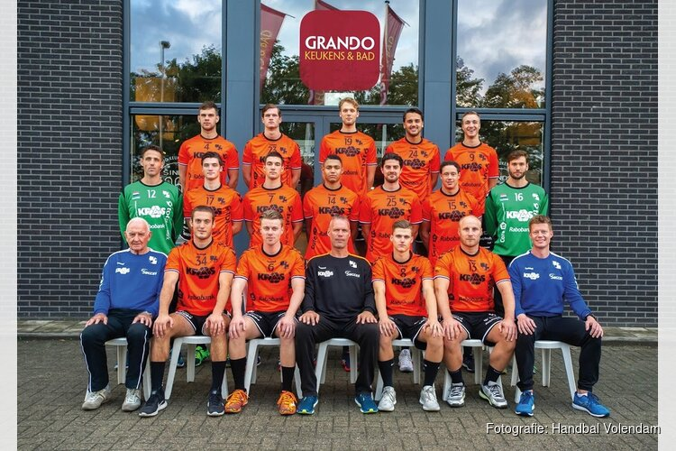 HV KRAS/Volendam behoudt ongeslagen thuisstatus en wint van Sporting NeLo