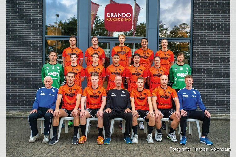 Inhaalwedstrijd van HV KRAS/Volendam tegen Hubo Initia Hasselt
