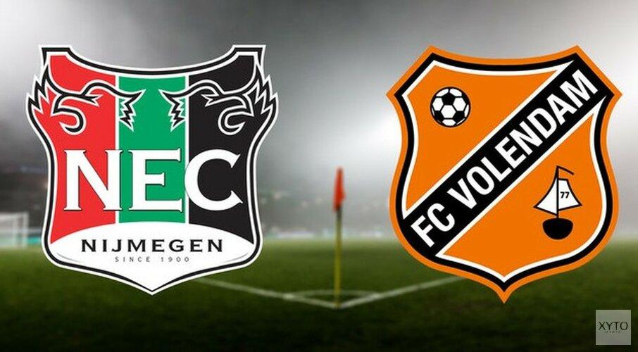 Nijmeegse counter is FC Volendam te machtig