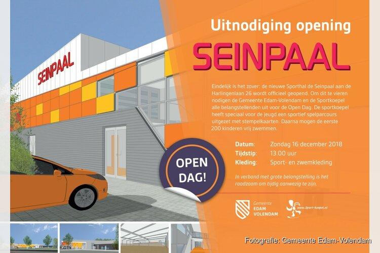 Open Dag tijdens opening nieuwe Seinpaal op 16 december