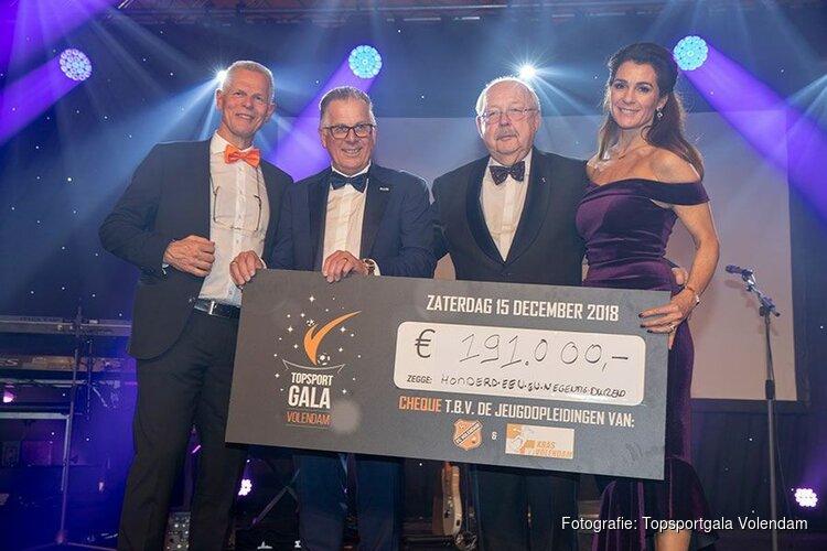 Topsportgala Volendam 2018 brengt recordopbrengst op
