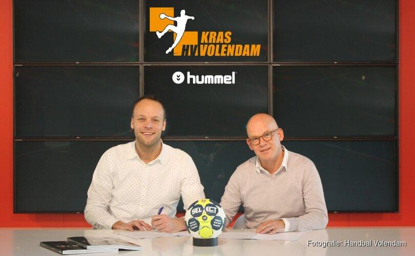 KRAS/Volendam en hummel verlengen partnerschap met vier jaar