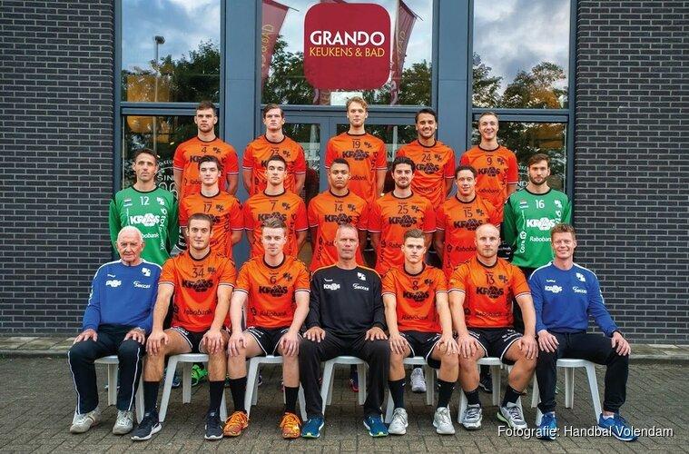 HV KRAS/Volendam zegeviert in fysiek duel met Sporting NeLo