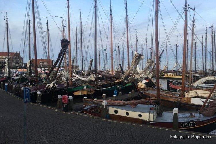 Pieperrace, Volendammer zeilspektakel van allure op 6 en 7 april