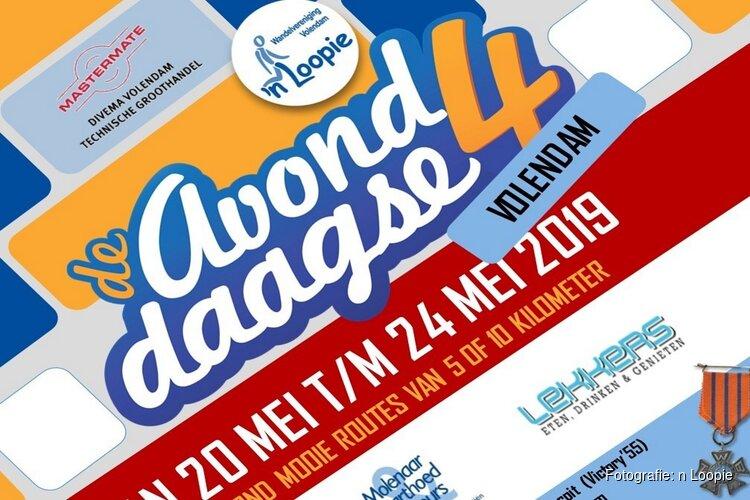 AvondWandel4daagse Volendam van 20 t/m 24 mei
