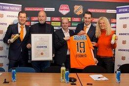 O'sonyq aankomende drie seizoenen sportdrank van FC Volendam