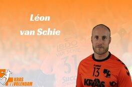 Van Schie zwaait af bij KRAS/Volendam