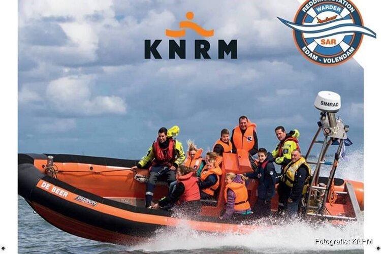 Reddingbootdag KNRM Warder en Marken op 11 mei