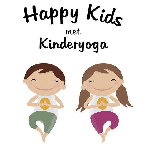 Blije kids met kinderyoga bij Yogastudio See You