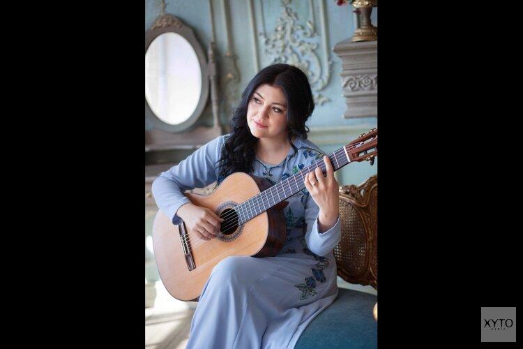 Gitariste Irina Kulikova