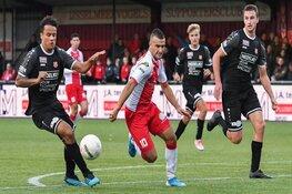 Jong FC Volendam dichtbij overwinning op koploper