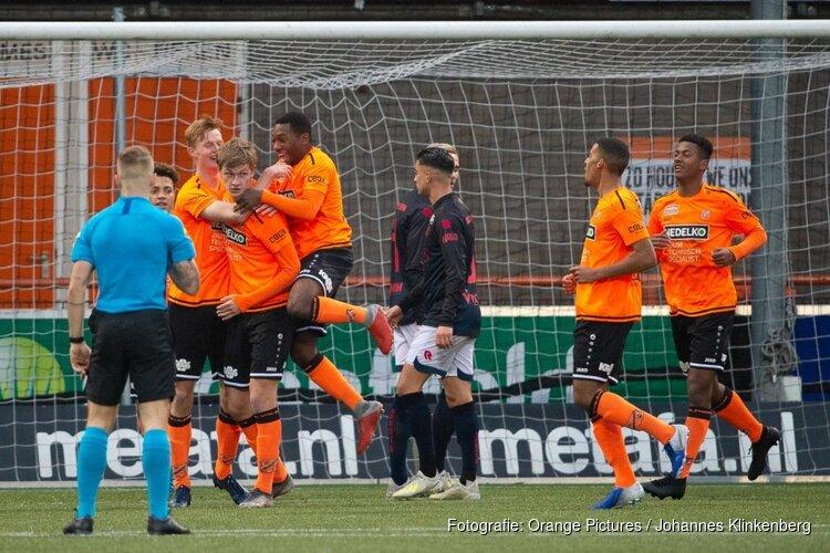 Jong FC Volendam haalt uit tegen Jong Sparta